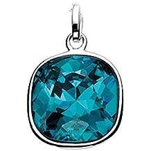 Elements: tapizado rígida de colour zoommaxx llavero con cristales de Swarovski-Elements, esterlina-plata 925