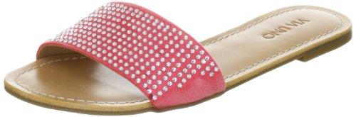 Via Uno Textil 21103604 Damen Sandalen Pink (Cherry)