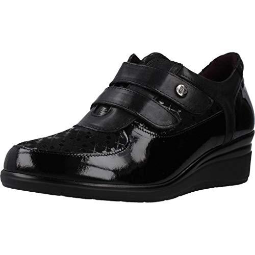 Pitillos Zapatos Cordones Mujer 5722P para Mujer Negro 40 EU