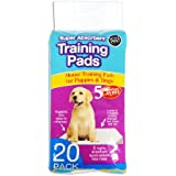 Pack of 20 Super Absorbent Premium Puppy Dog Training Pads 60 x 45cm by World of Pets