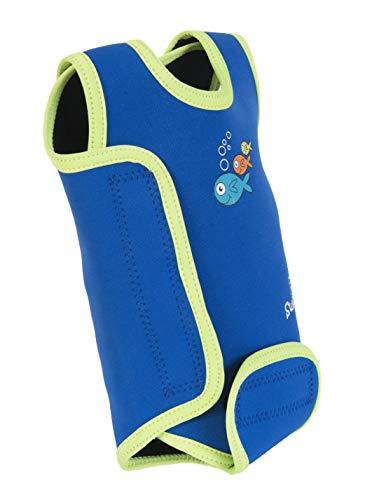 Swimbest Baby Badeanzug, Blau/Grün, 6-12 Monate (BWTWS3-12)