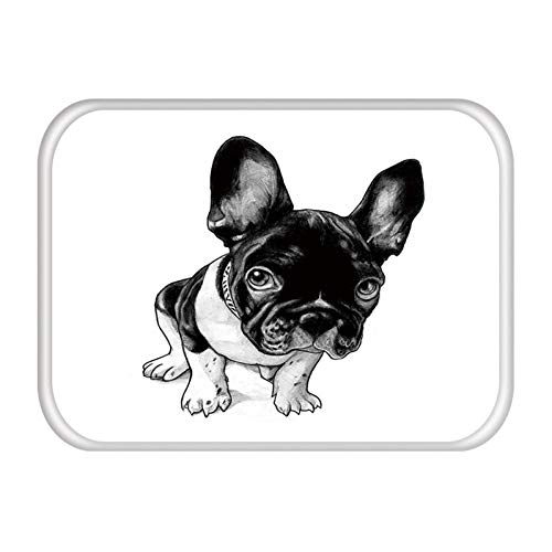 Sauberlaufmatte Mops Hund