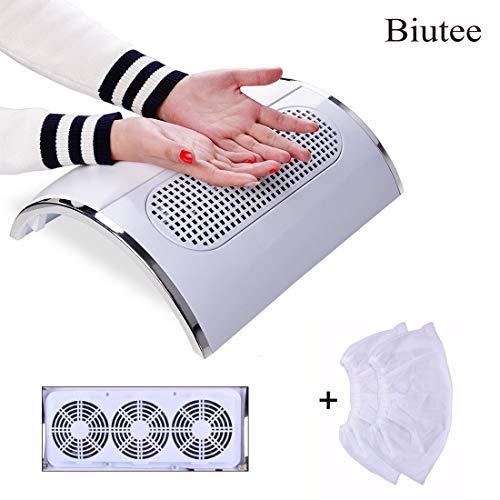 Biutee Model neue Weiß Nail Staubsauger Collector UV Gel-Nagel-Trockner Maschinen