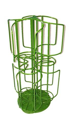 T-disc Carousel (2 stöckig 48 Tassimo T-Discs Kaffee-Kapselhalter-Spender Kaffee Kapselhalter grün)