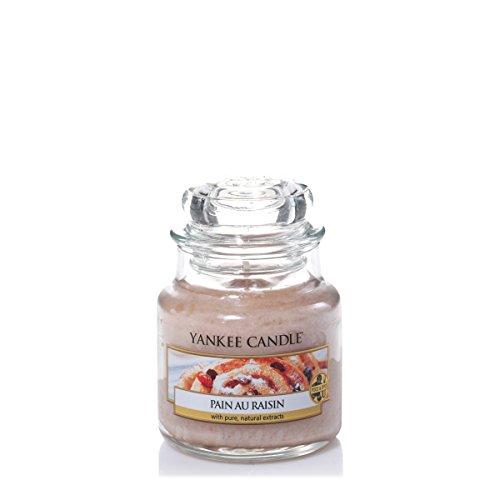 Yankee Candle 1332254E Bougie parfumée senteur Pain au raisin en jarre Beige