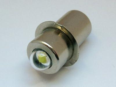 TorchLED13 - Energiesparende 1 Watt LED-Ersatzbirne für Taschenlampen | Sockel P13.5s | 1-9 Volt