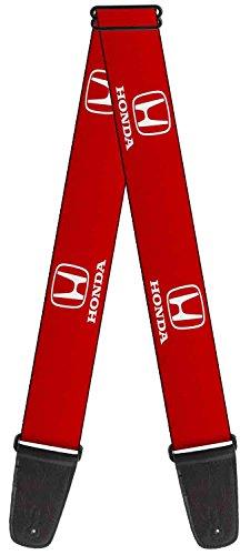 honda-automobile-company-classic-logo-red-guitar-strap