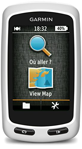 Garmin Edge Touring Fahrrad Navigationsgerät bis zu 15 Std. Akkulaufzeit, frei wählbare Datenfelder, RoundTrip Routing, 2,6 Zoll (6,6 cm) Touchscreen-Display