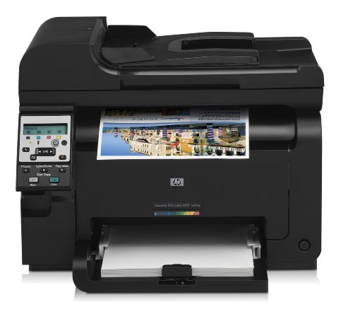 HP LaserJet Pro 100 M175a All-in-One Farblaser Multifunktionsdrucker (A4, Drucker, Scanner, Kopierer, USB, 600x600)