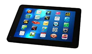 """Luxya MID-970DCHI Tablette Tactile 9,7"""" (24,64 cm) 1,5 GHz 8 Go Android Jelly Bean 4.1.2 Wi-Fi Aluminium"""