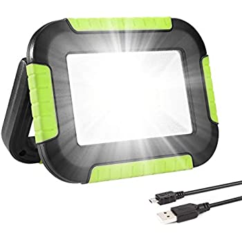 30 Watt Tragbare USB COB LED Flutlicht Outdoor Camping Spot Arbeit Lampe Energie