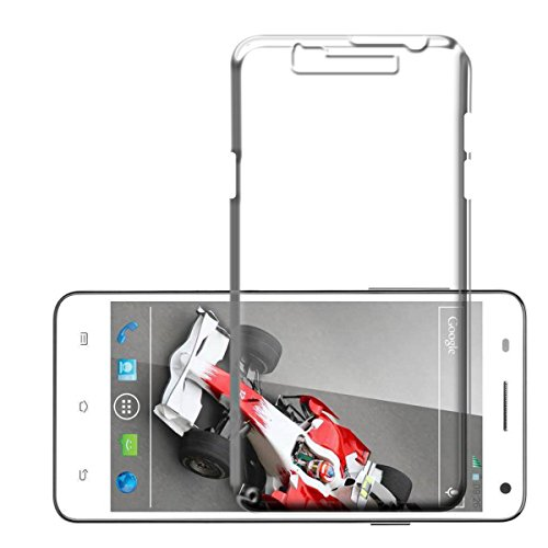 WTF Back Case, Lightweight,Shock Absorbing Transparent Soft Back Case Cover For Xolo Q3000  available at amazon for Rs.184