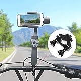 Tineer Support de vélo Clip de Fixation Support de vélo DJI OSMO Mobile 2 / Zhiyun Smooth 4 Stabilisateur