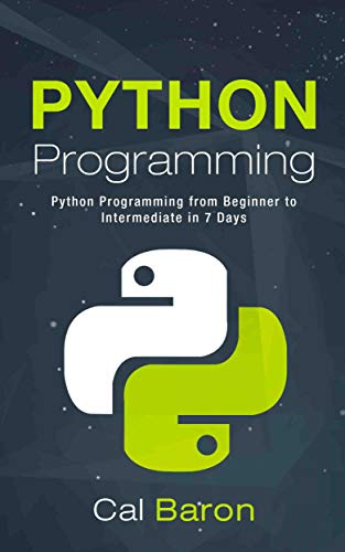 Python Programming: Python Programming from Beginner to Intermediate in 7 Days book cover
