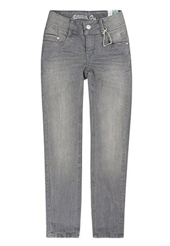 Lemmi Mädchen Jeanshose Hose Jeans Girls Skinny Big, Grau (Grey Denim Gray 0016), 164 (Herstellergröße: 164)
