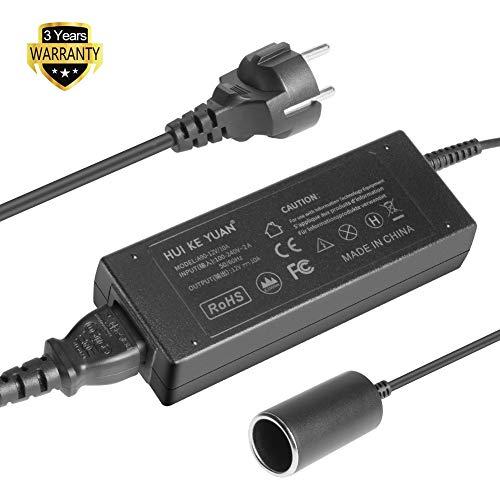 HKY Spannungswandler KFZ Netzadapter AC-DC Netzteil Adapter Stromwandler Spannungswandler 200V 230V bis 240V auf 12V Zigarettenanzünder Netz-Adapter KFZ-Ladeadapter 10A 120W