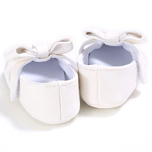 Estamico, sandali da neonato, bianco (White), 6-12 months