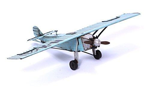 Modellflugzeug - Spirit of St. Louis - Retro Blechmodell (Spielzeug Vintage Flugzeuge)