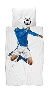 Snurk Biancheria Da Letto Soccer | Blu–135x 200cm