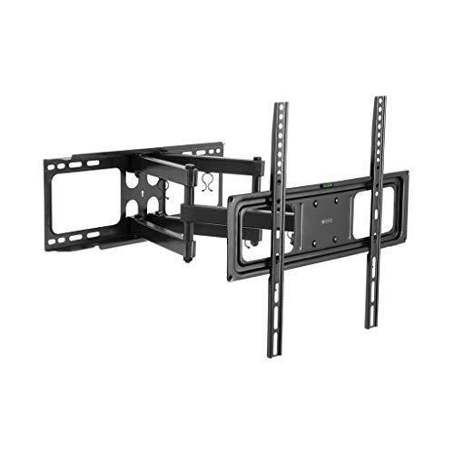 Meliconi Elite M - Plataforma giratoria para TV 360°, Negro