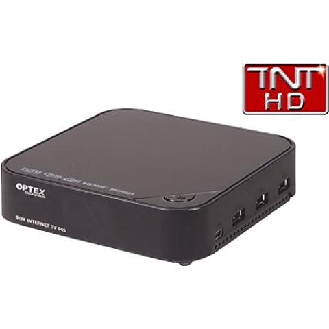 Décodeur TNT Haute définition connecté + télécommande Optex ORT945