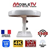 ANTENNE TV pour Camion Camping Car Fourgon Poids Lourd 55dB TNTHD TNTUHD 4K UHD ULTRAHD OMNIDIRECTIONNELLE - OMNI.T