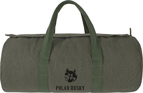 Canvas-Seesack, Universal-Tasche aus reiner Baumwolle OLIV