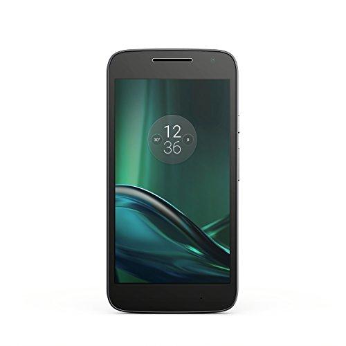 Lenovo Moto G4 Play Smartphone débloqué 4G (Ecran: 5 pouces - 16 Go - Double SIM - Android ) Noir