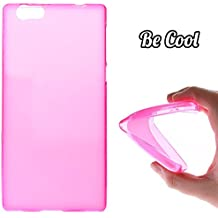 Becool® - Funda Gel Flexible para Elephone M2 .Carcasa TPU fabricada con la mejor Silicona protege, se adapta a la perfección a tu Smartphone y con nuestro diseño exclusivo Basic Rosa