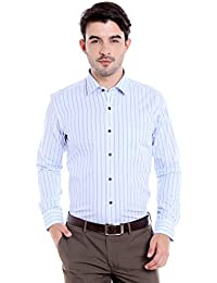 Donear NXG Mens Formal Shirt_SHIRT-1279-BLUE