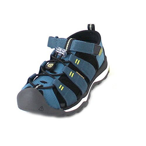 Keen 1018433 Newport Neo H2 Kinder Jungen Sandale antibakterielles Futter Klett, Groesse 10, Blau (Herren Keen Größe 10)