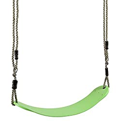 Ultrakidz 331900000142 Schaukelsitz Eco, elastische Kinderschaukel, witterungsbeständig, biegsam für besonderen Schaukelkomfort, Apfelgrün