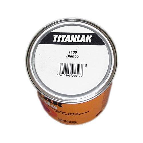 Titanlak M30608 - Esmalte satinado 750 ml titanlak blanco