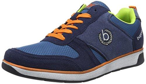 bugatti-k14116n6-scarpe-da-ginnastica-basse-uomo-blu-dunkelblau-425-46-eu
