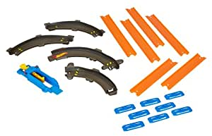 Hot Wheels Track Builder Essentials Curve Pack Includes A Non Motorized Kicker