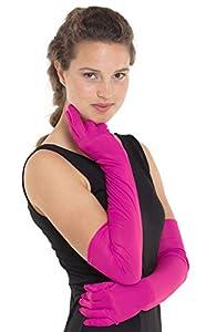 Folat 64539 - Guantes largos para mujer, color rosa