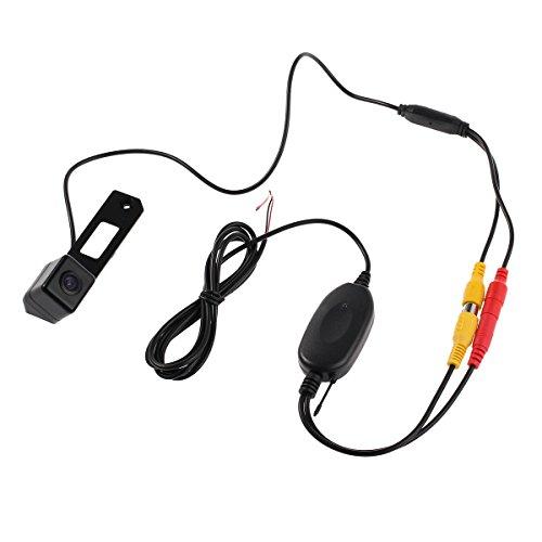 Justech Funk 170° Rückfahrsystem Rückfahrkamera kabellos Einparkhilfe Auto KFZ Monitor
