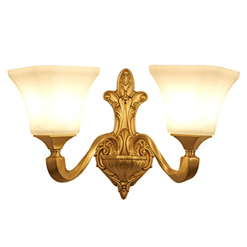 Wandleuchten Moderne Einfache Kupfer Lampen Für Dekoration Schlafzimmer Studie Nacht Gang Korridor Kreative Beleuchtung ( Farbe : B )