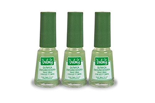 Valmy Endurecedor Blanqueador uñas Ajo Limón - 14