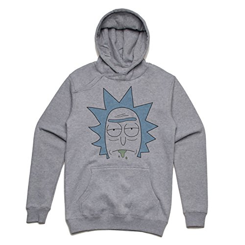 Rick is not impressed Unisex Hoodie Grau