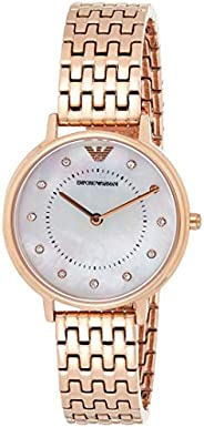 Emporio Armani Women's 'Kappa' Quartz Stainless-Steel-Plated Casual Watch, An