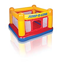 Idea Regalo - INTEX 48260 - Playhouse Jump-O-Lene, 174 x 174 x 112 cm