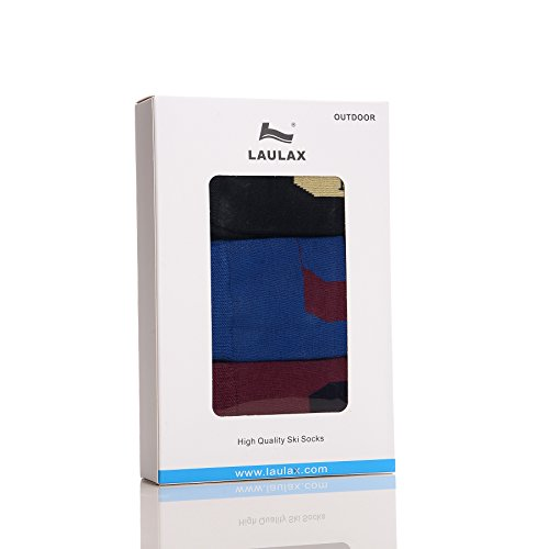 laulax-mens-high-quality-ski-sock-3-pairs-gift-set-black-blue-burgundy-size-uk-7-11-europe-41-46