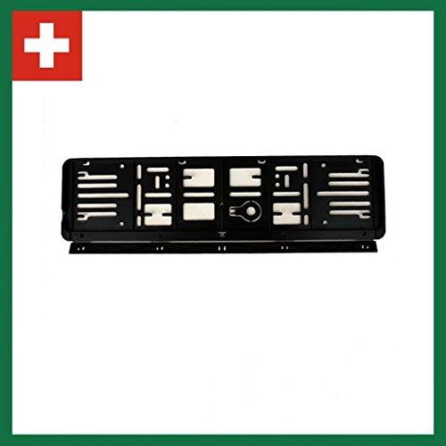 Wechselkennzeichen Rahmen: Schweiz 2 Mal (80X300) und 2 Mal (110X500) Set