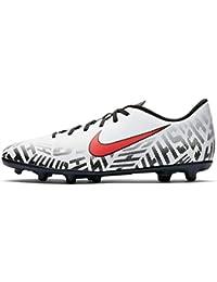 online retailer 759bb 4db30 Nike Men s Vapor 12 Club NJR FG MG White Challenge Red-Black Football