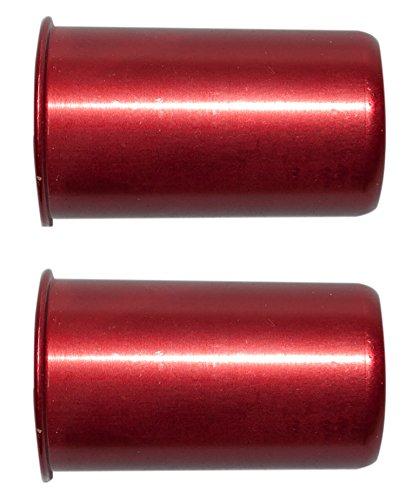 Pufferpatronen Kaliber 12 Aluminium Rot (2 Stück ) Pufferpatrone (44 Magnum Pistolen)