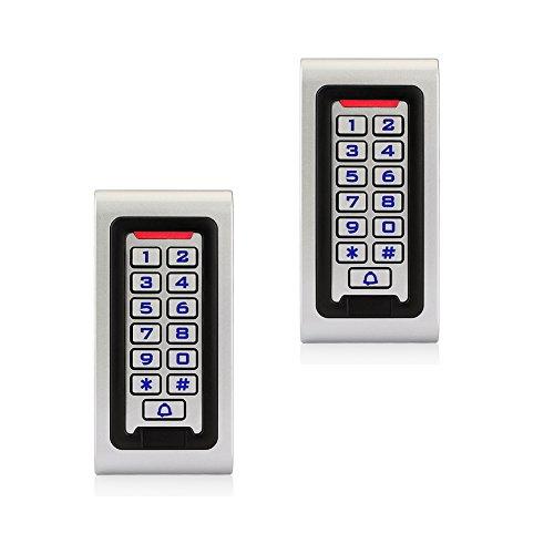 Retekess S601EM-W Codeschloss PIN-Code RFID-Karte IP68 für Fabrik (Silber) X 2
