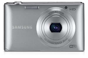 Samsung ST150F Smart-Digitalkamera (16,2 Megapixel, 5-fach opt. Zoom, 7,6 cm (3 Zoll) LCD-Display, bildstabilisiert, WiFi) silber