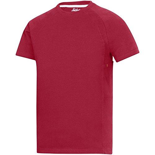 Snickers T-Shirt Classic navy Größe: XXL chili