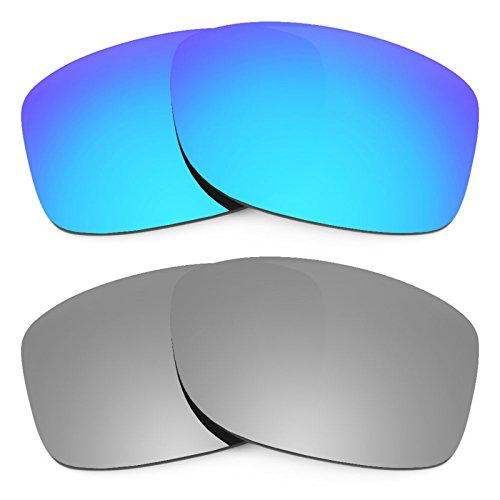 Preisvergleich Produktbild Revant Ersatzlinsen für Oakley Jupiter Squared Polarisiert 2 Paar Kombipack K004